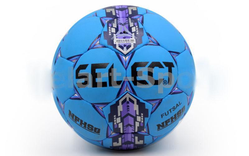 Мяч футзал №4 CORD ST ST-7-B голубой-т.синий-фиолет. (5 сл., сшит вручную)