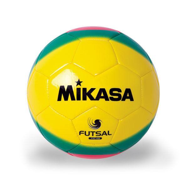 Мяч футзал №4 Ламин. PU MIKASA (сшит вручную)