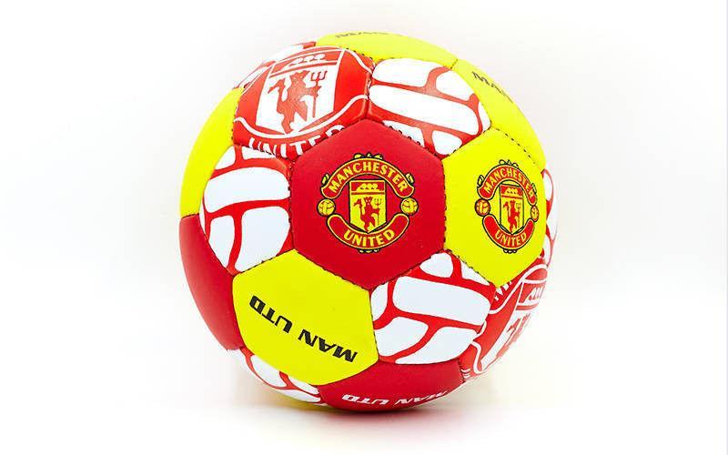 Мяч футбольный Гриппи-5 MANCHESTER (№5, 5 сл., сшит вручную)