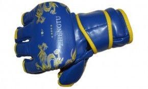 Перчатки для рукопашного боя М-синяя