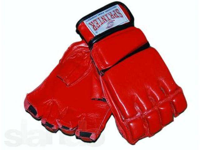 Перчатки для рукопашного боя.M красные 58-69