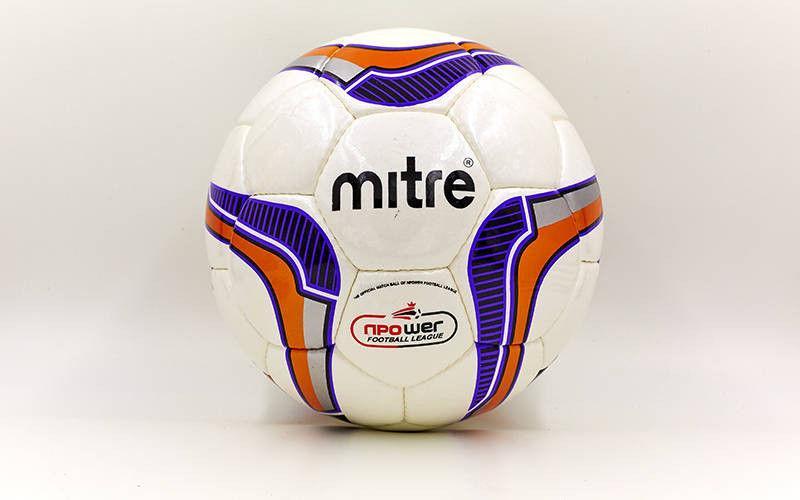 Мяч футбольный Сшит вручную SHINE MITRЕ (№5, 5 сл.)