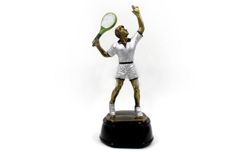 """Статуэтка награда спортивная """"Большой теннис мужчина"""""""