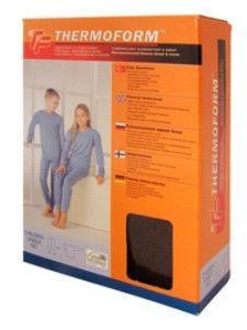 Термобельё для детей. 50% полиэстер, 50% хлопок. 12-007