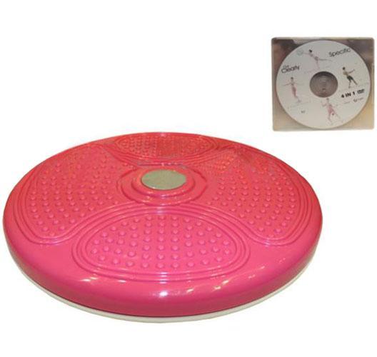 Диск здоровья массажный d-40 см (пластик, +DVD)