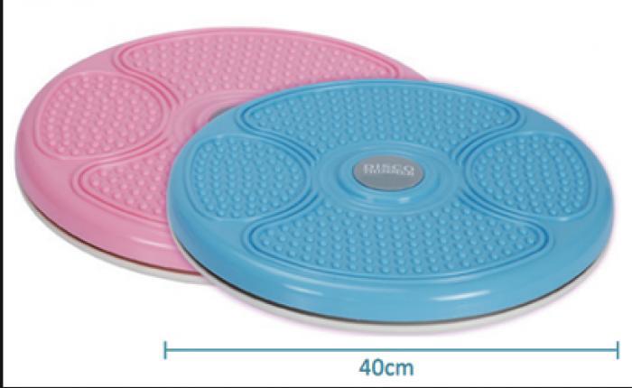 Диск здоровья массажный d-48 см (пластик, +DVD, толщина-5 см)