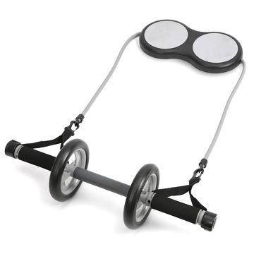 Колесо-триммер двойное с эспандером(d колеса-17см, L эсп.-125см)