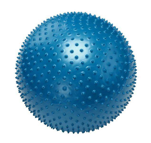Мяч для фитнеса массажный 65 см (ABS-система)