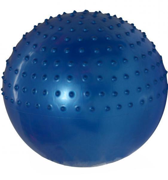 Мяч для фитнеса полумассажный 2в1 85 см(розовый, фиолет., голубой)