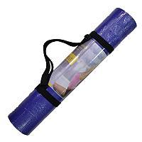 Коврик для фитнеса PVC 5мм Yoga mat (фиксир. резинка)