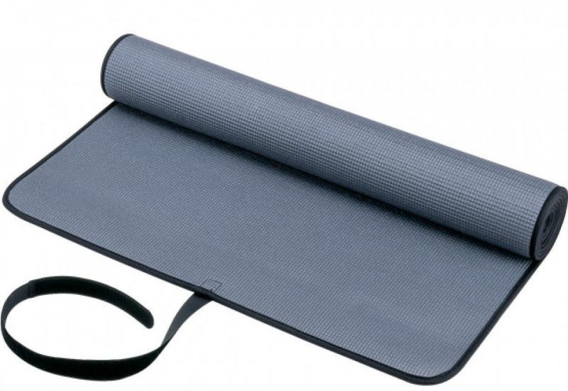 Коврик для фитнеса PVC 6мм Yoga mat (серый)