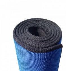 Коврик для фитнеса TPE+NY 5мм Yoga mat (синий, розовый)
