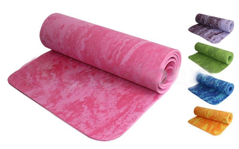 Коврик для фитнеса камуфляж 6мм Yoga mat (цвета в ассортименте)