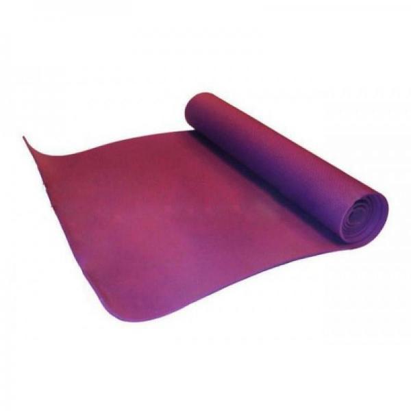 Коврик для фитнеса, каремат EVA 4мм (фиолетовый)