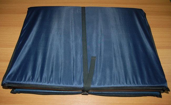 Мат спортивный складной (4 сложения, синий)