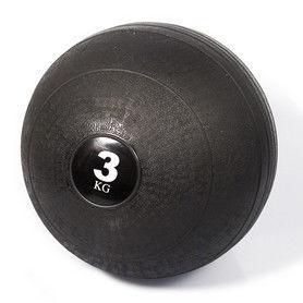 СЛЭМБОЛ Мяч медицинский SLAM BALL SBL001-3 3кг (верх-резина, наполн-песок, d-23см, цвет в ассорт)