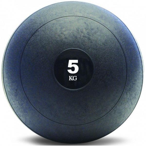 СЛЭМБОЛ Мяч медицинский SLAM BALL SBL001-5 5кг (верх-резина, наполн-песок, d-23см, цвет в ассорт)