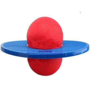 Тренажер для равновесия POGO BALL (пластик, резина, d-37,5см, d внутр.-16см)