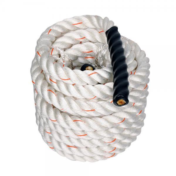 Канат для Кроссфита (Crossfit Battle Rope) SRP002 (полипропилен, нейлон, l-15м, d-3,8см)