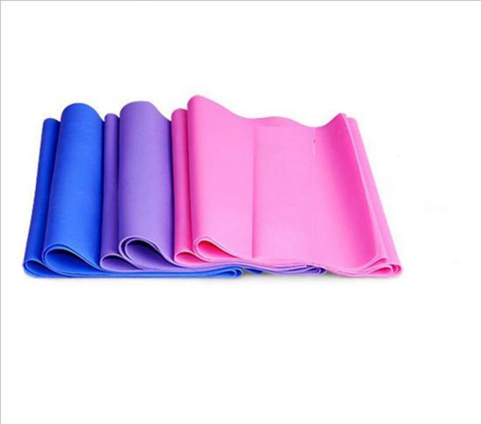 Ленточный эспандер замкнутый (латекс, р-р 104см x 15см x 0,65мм,фиолетовая)