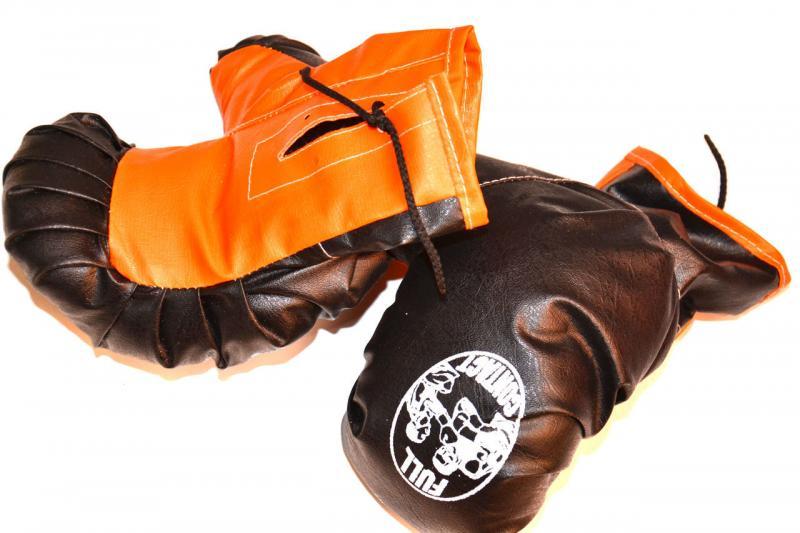 """Детские боксерские перчатки """"Full Contact"""" от 4 до 8-9 лет"""