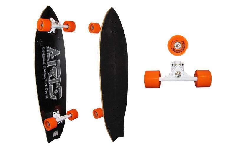 Лонгборд Круизер (скейтборд в сборе) LY-116-12