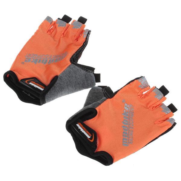 """Перчатки для фитнеса """"MADBIKE"""" (открытые пальцы, р-р S-L)"""