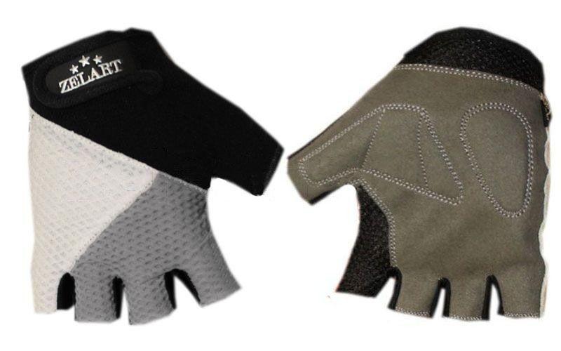 """Перчатки для фитнеса """"ZELART"""" обрезанные пальцы"""