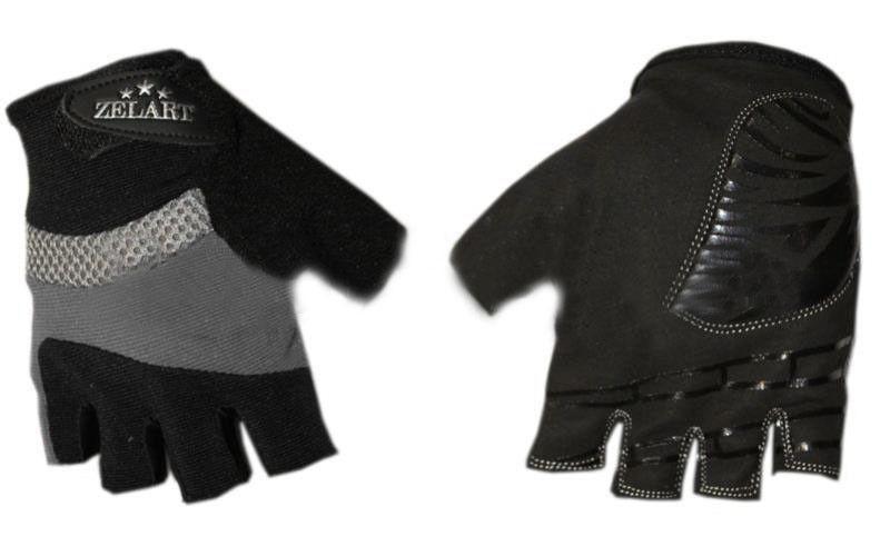 """Перчатки для фитнеса """"ZELART"""" серые"""