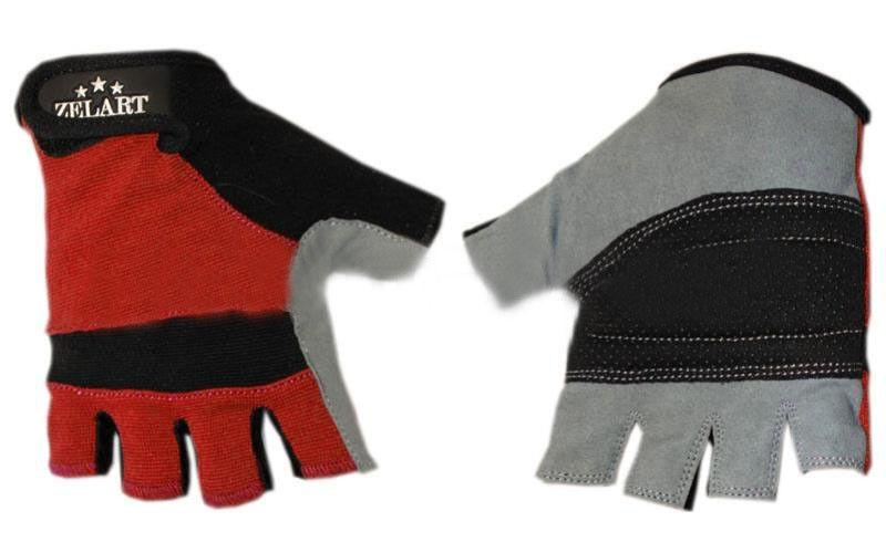 "Перчатки для фитнеса ""ZELART"" Размер: S, M, L"