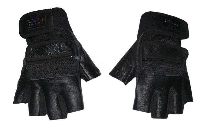 Перчатки спортивные кожаные Размер: S, M, L