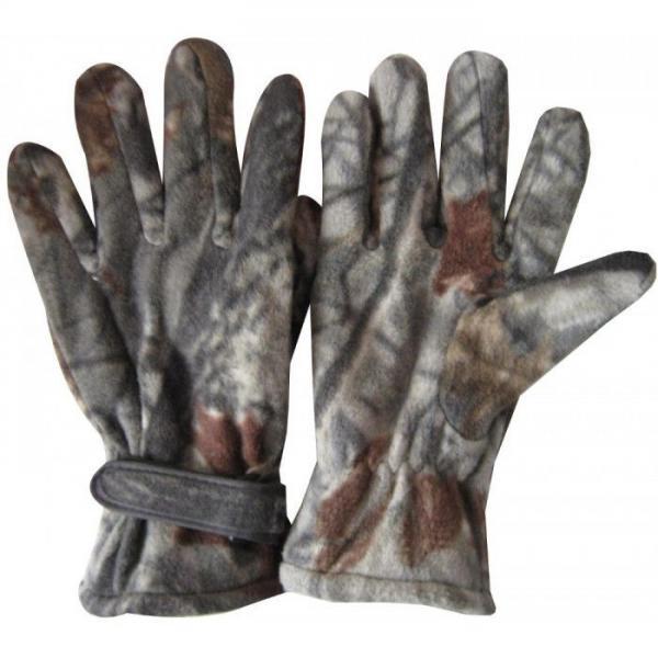 Перчатки спортивные теплые флисовые (размер L)