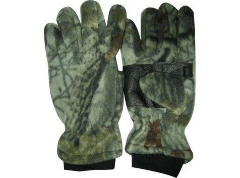 Перчатки теплые для рыбалки флисовые