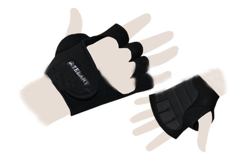 """Перчатки (накладки) для поднятия веса """"ZELART"""""""