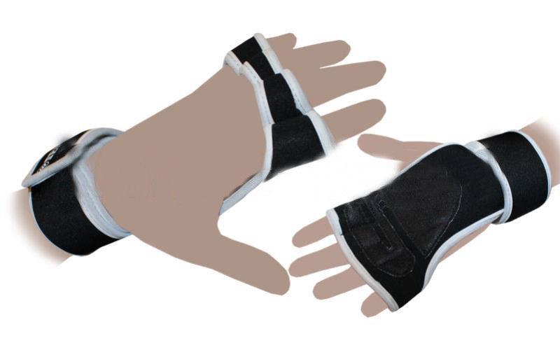 """Перчатки (накладки) для поднятия веса """"ZELART""""(черные)"""
