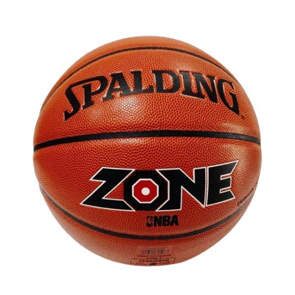 Мяч баскетбольный Composite Leather №7 SPALDING ZONE ALL SURFACE Indoor/Outdoor (оранжевый)