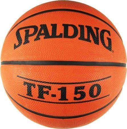 Мяч баскетбольный резиновый №6 SPALDING PERFORM (резина, бутил, оранжевый)