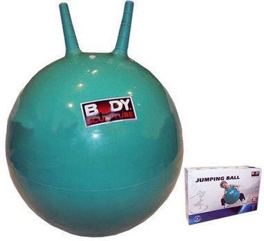 Мяч попрыгун с рожками SOLEX BB-004GR-45 (d-45см, резина, цветной)