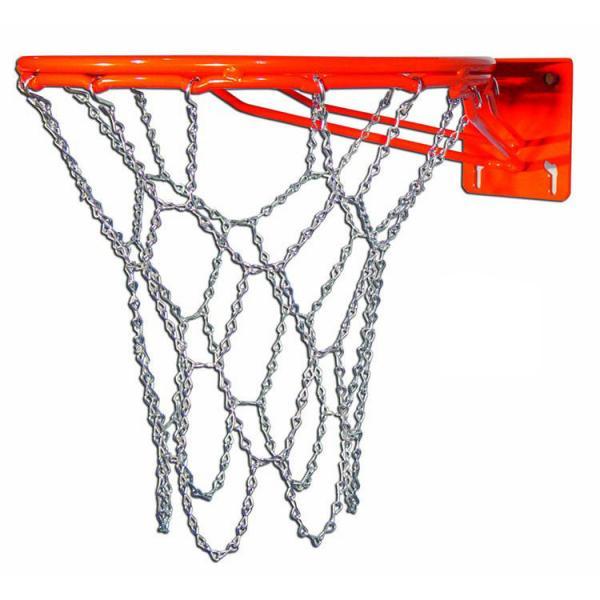 Сетка баскетбольная C-914 Цепь (металл, 12 петель)