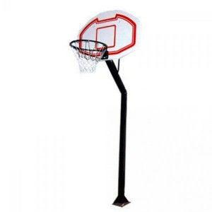 Стойка баскетбольная для улицы (щит-PP р-р110x75см,кольцо(16мм) d-45см,сетка,выс.260-305 см)