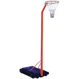 Стойка баскетбольная (мобильная) (кольцо-сталь (12мм) d-42см, сетка, регул.высота 210-260 см)
