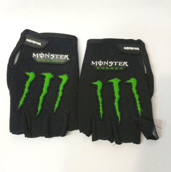 """Вело-мото перчатки """"MONSTER"""" (открытые пальцы)"""