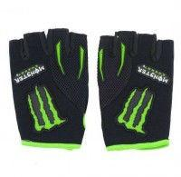 Вело-мото перчатки MONSTER Energy (р-р S-XL)