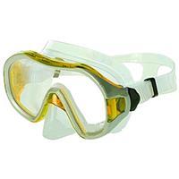 Маска для плавания DORFIN PL-265TSS (термостекло, силикон, пластик, желтая, зеленая, синяя, красная)
