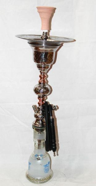 Кальян с гравировкой Khalil Mamoon ( Ручная работа ) 90см