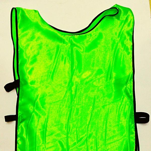 Манишка (накидка) мужская двусторонняя с резинкой хв 3 (PL,р-р XL-65х45+14см, оранжево-салатовый.или на выбор)