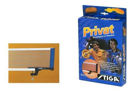 Сетка для настольного тенниса с винтовым креплением STIGA SGA-613200 (металл, NY, цвет. карт. короб)