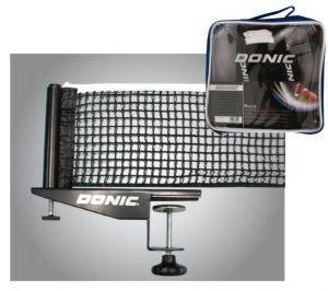 Сетка для настольного тенниса с винтовым креплением DONIC МТ-808341 (металл, NY, PVC чехол)