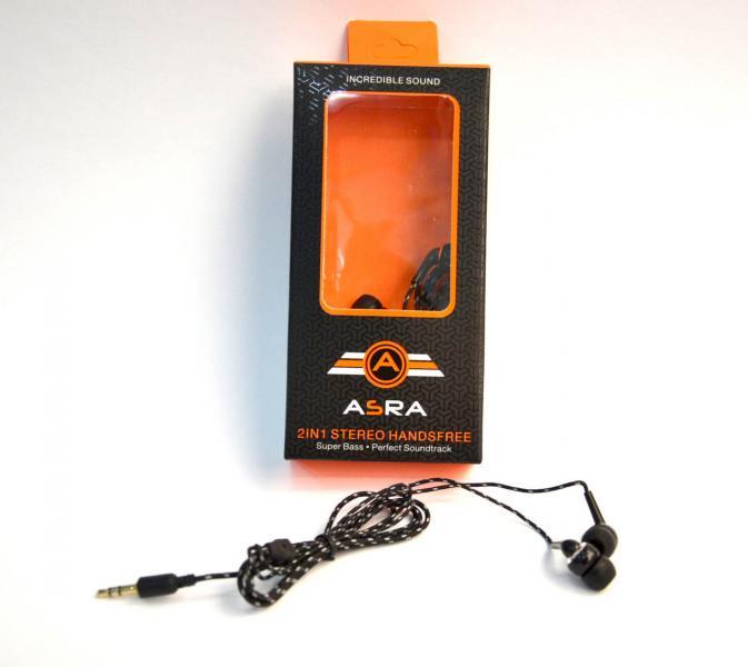 Наушники ASRA 2 in 1 stereo handsfree