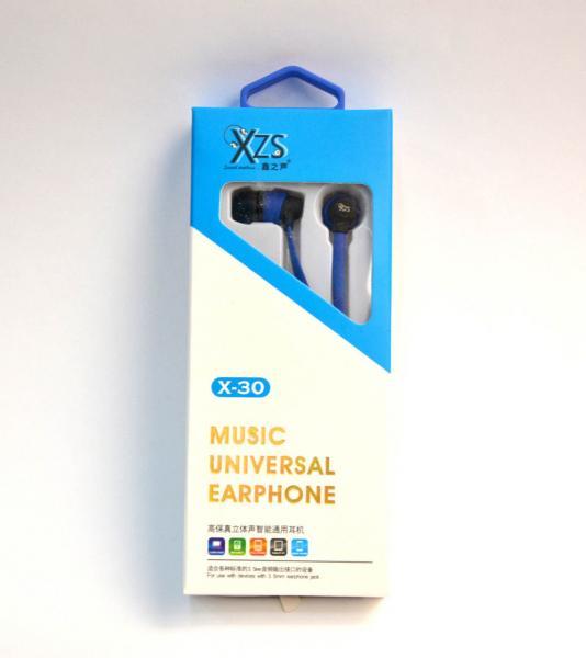 Наушники XZS X-30 Nokia-iPhone